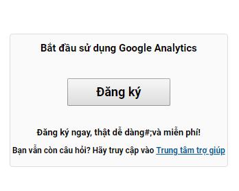 Hướng dẫn cài đặt Google Analytic