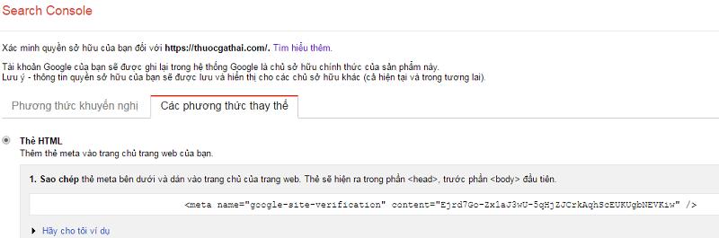 Hướng dẫn cài đặt và sử dụng Google Webmaster Tools