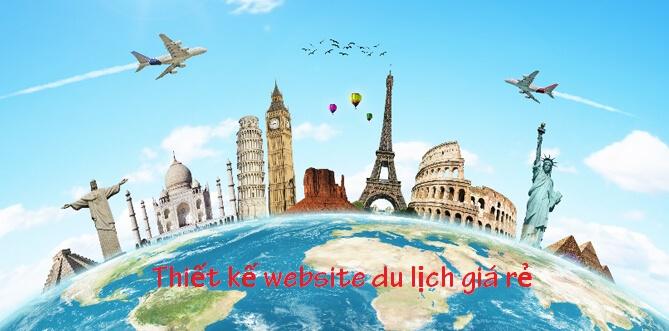 Thiết kế website du lịch trọn gói
