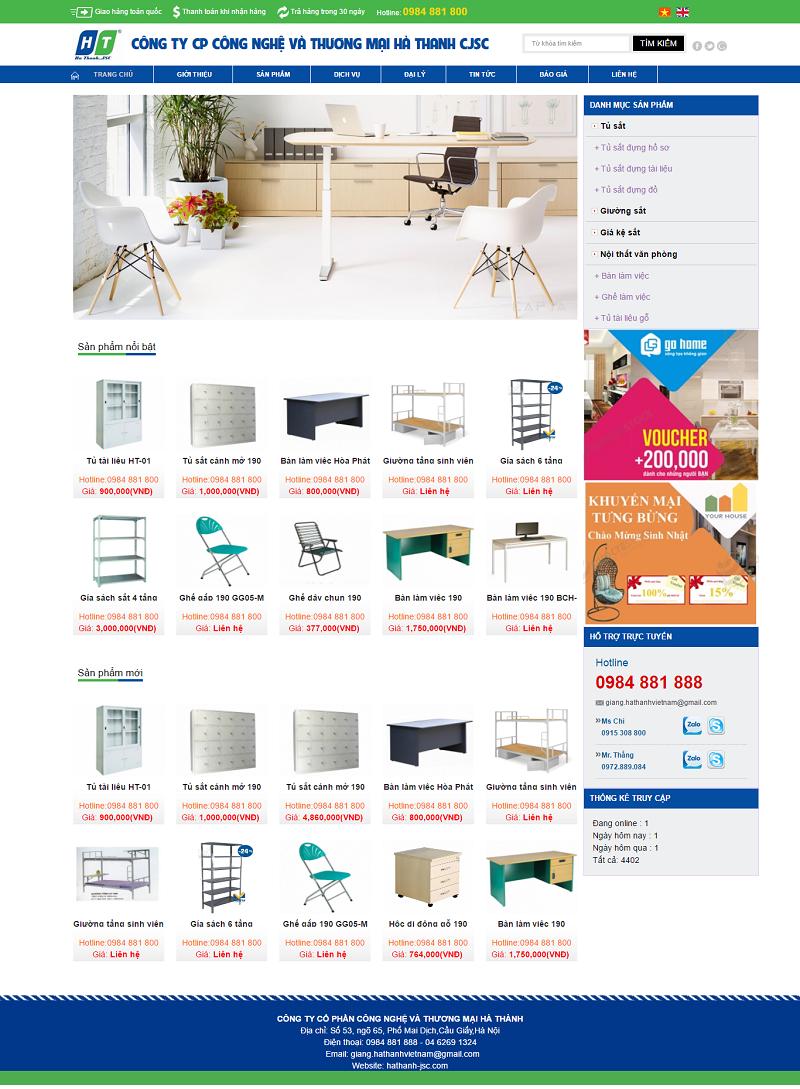 thiết kế website nội thất chuyên nghiệp chuẩn seo
