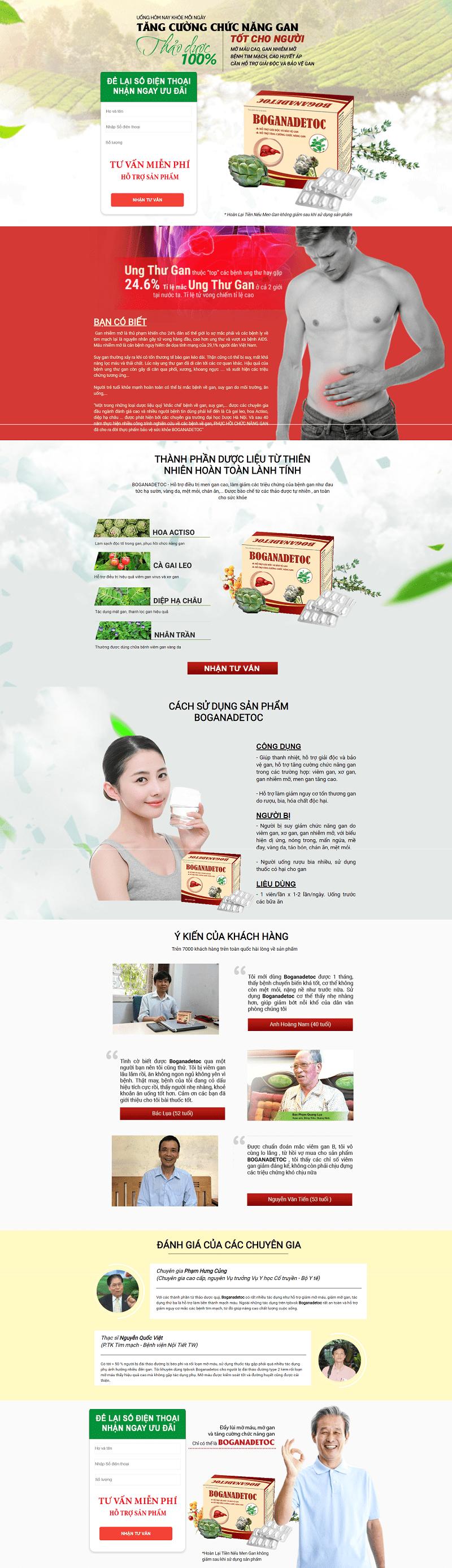 web thực phẩm chức năng