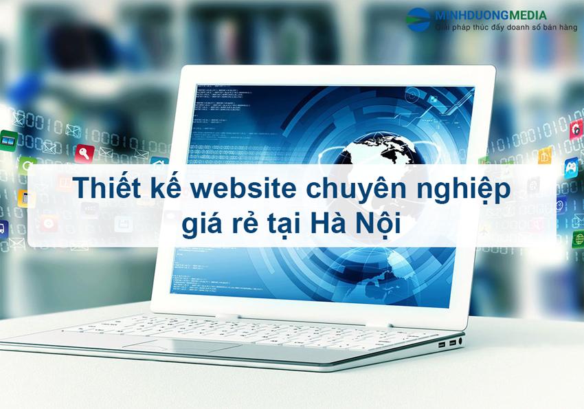 thiết kế website chuyên nghiệp giá rẻ tại Hà Nội