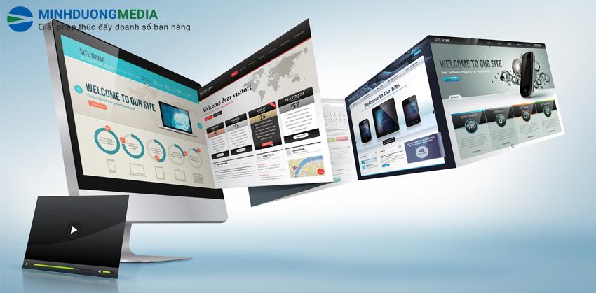 thiết kế website giao diện đẹp mắt