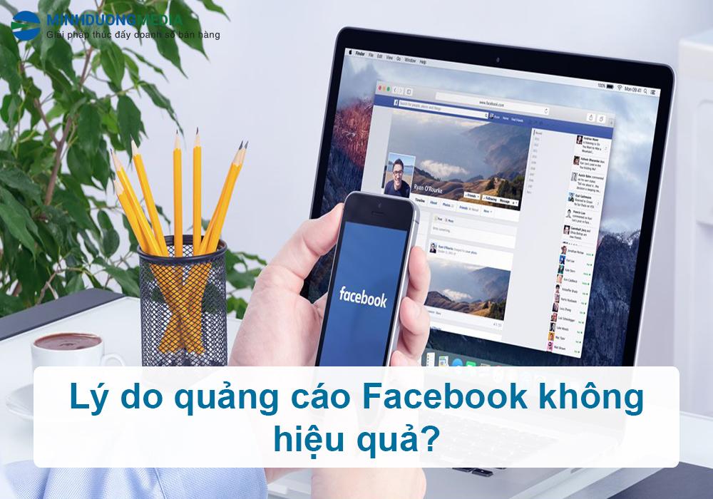 lý do quảng cáo facebook không hiệu quả