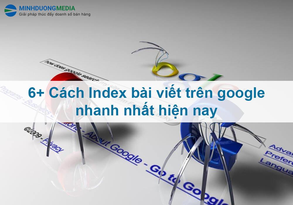 cách google index bài viết nhanh nhất