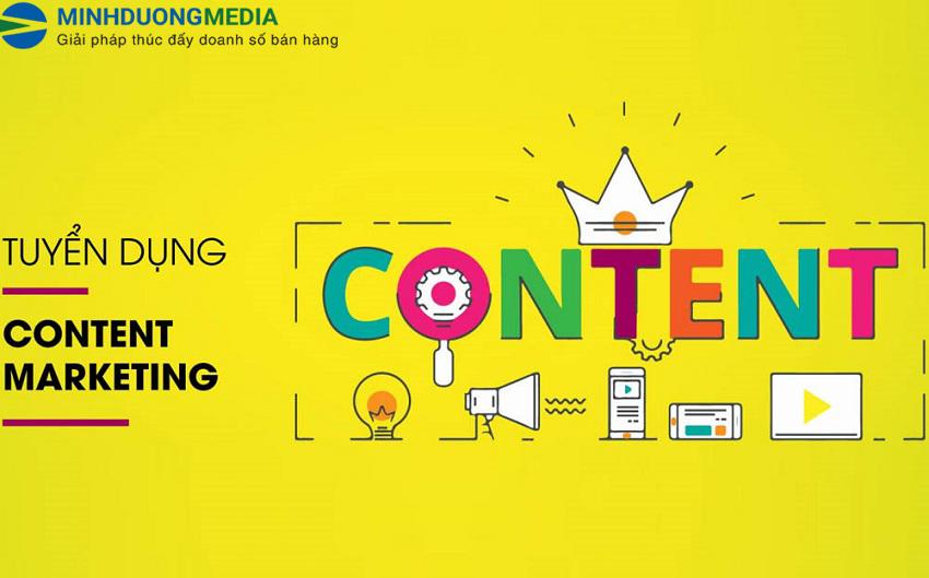 Tuyển dụng nhân viên content marketing - Lương cao đi làm ngay